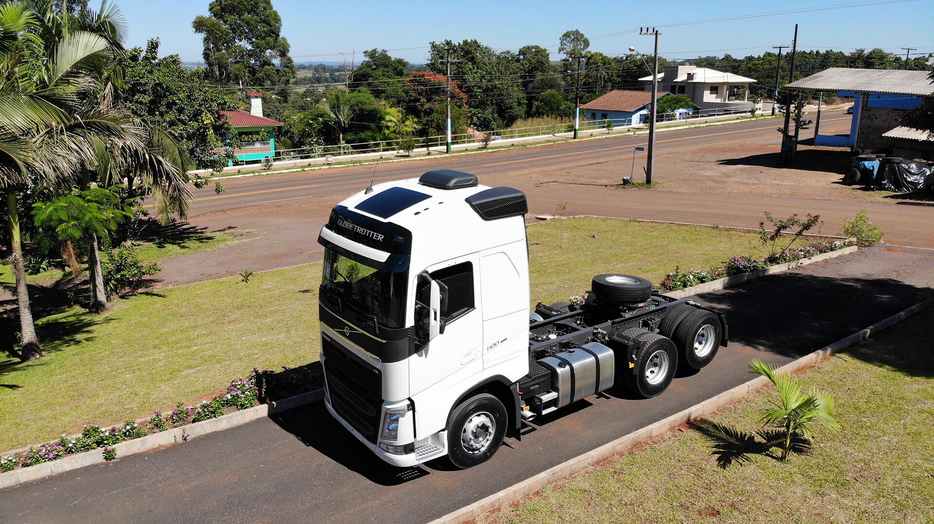Caminhão é adquirido pelo Grupo Jantsch